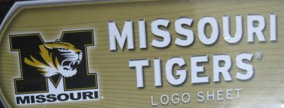 Missouri Tigers Team Logo Wall Decal, Vinyl Graphics ()