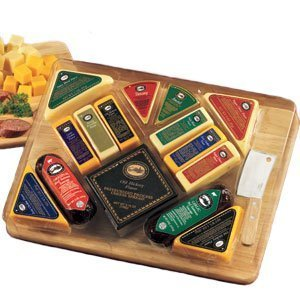 Ultimate Gourmet Meat and Cheese Gift -Organic Stores by The Gift Basket Gallery (Organic Stores Gift Baskets)