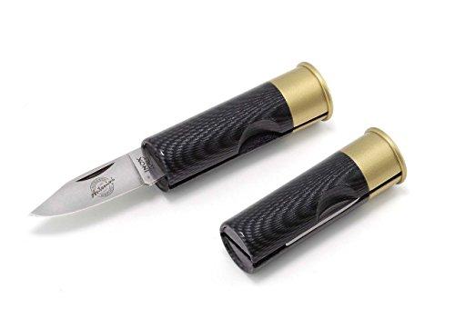 1301 Original Antonini 12-Gauge Shotgun Shell Pocket Knife Special Finishes (Faux Carbon Fiber)