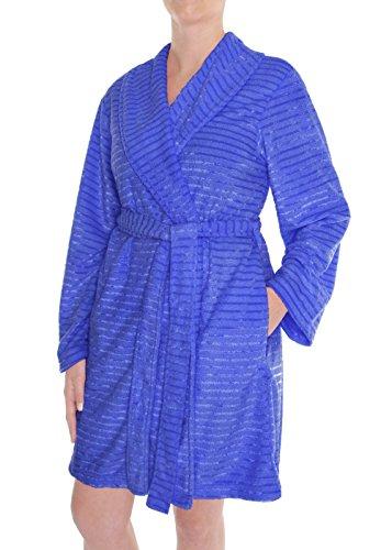 Capelli Robe (Capelli New York Ladies Plush Tonal Stripe 36