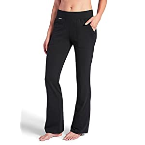 Jockey Women's Activewear Essential Relaxed Pant, Black, L