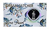 Dream Catcher Love Wish Pearl Kit Chain Necklace Kit Pendant Cultured Pearl in Kit Set with Stainless Steel Chain 16'