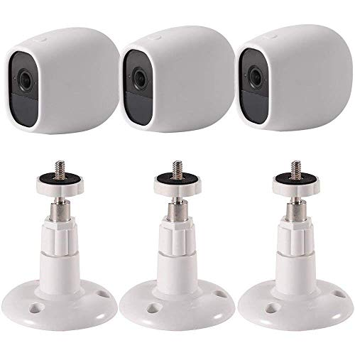 EEEKit Silicone Skins Protective Cover Case+Adjustable Wall Mount for Arlo Pro/Arlo Pro 2 Smart Security Camera (3-Pack Set) Review