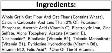 Gerber Organic 1st Food Single Grain Oatmeal Cereal, 16 Ounce -- 6 per case.