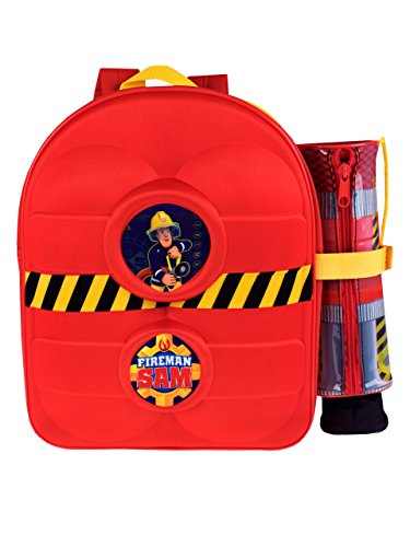Fireman Sam Boys Sam Backpack and -