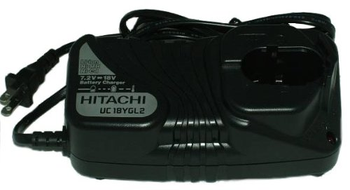 Hitachi UC18YGL 7.2-18-Volt Universal Charger (Discontinued by manufacturer)