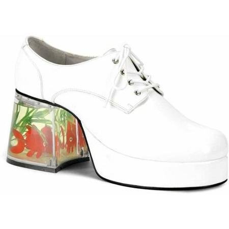 Mack White Shoes Men's Adult Halloween Accessory]()