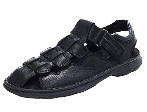 Sandali Sportivi Insun Punta A Uomo Nero Sandali Chiusa v88a4wZq
