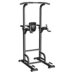CITYBIRDS-Power-Tower-Dip-Station-Pull-Up-Bar-for-Home-Gym-Strength-Training-Workout-Equipment-400LBS