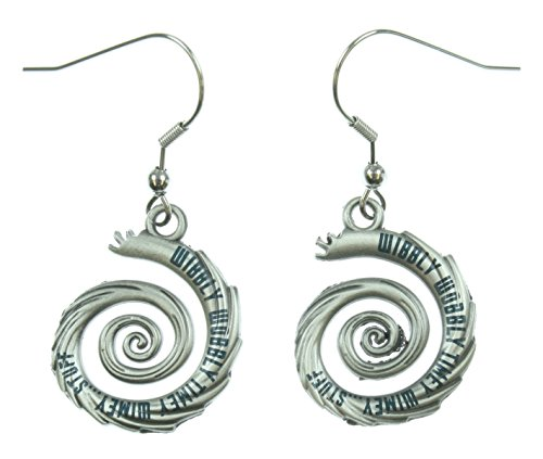 Doctor Who Wibbly Wobbly Timey Wimey Dangle Earrings - Doctor Who Unit Costume