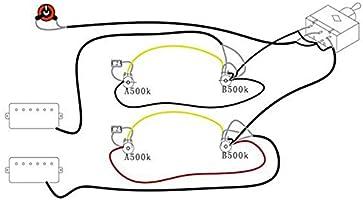 Kit de arnés de cableado para guitarra eléctrica LP Reemplazo ...