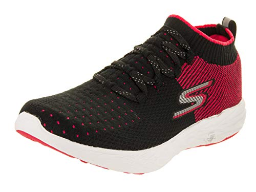 Skechers Deportivas Negro Go Mujer 6 Performance Hot Rosado para Run Zapatillas para Interior rwOBrSqXfx