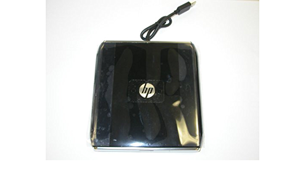 HP Original DV2 Lightscribe DVDRW USB External Drive P/N 581184-001