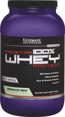 Ultimate Nutrition Prostar 100% Whey Protein, Chocolate Mint, 2 Pound (Standard Whey Mint Gold Chocolate)