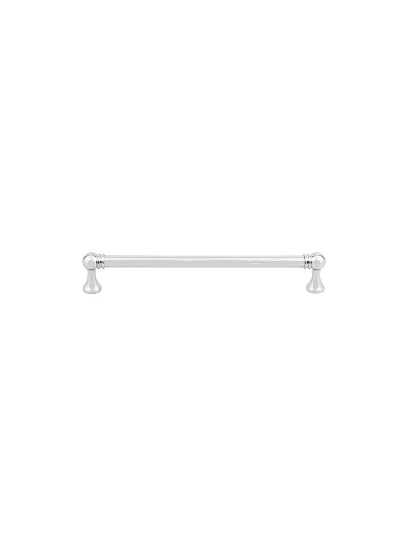 Top Knobs TK805PC Serene Collection 7-9/16'' Kara Pull, Polished Chrome