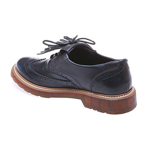 Modeuse Cordones De Azul La Para Zapatos Mujer tAUqOxqdw