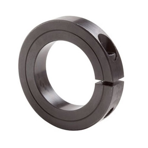 Big Bearing SCS26X1-5/8 Black Oxide Single Split Shaft Collar, 1-5/8'' Bore Size, 2-5/8'' Outside Diameter, 11/16'' Width by Big Bearing