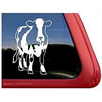 Holstein Cow Dairy Window Decal Sticker