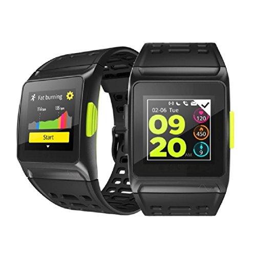 BISOZER BR1 GPS SPORTS Watch Smart Watch IP67 Waterproof Color Screen Multisport Wristwatch Men Women Fitness Watch Smartwatch by BISOZER