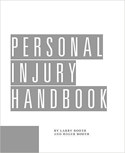 Personal Injury Handbook