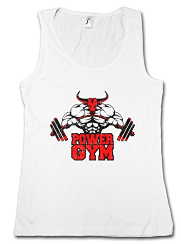 Urban Backwoods Power Gym Bull Woman Tank TOP – Fitness Sports Muscles Body Building Heavy Iron Training Hardcore Pumping