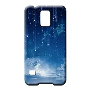 samsung galaxy s5 cell phone carrying covers Durable Brand Scratch-proof Protection Cases Covers sky blue air white cloud