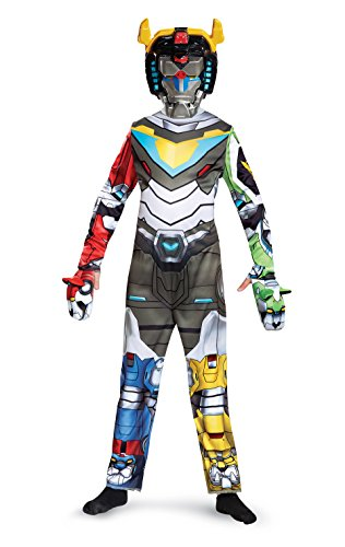Voltron Classic Costume, Multicolor, Medium (7-8) (Robot Costume Halloween)