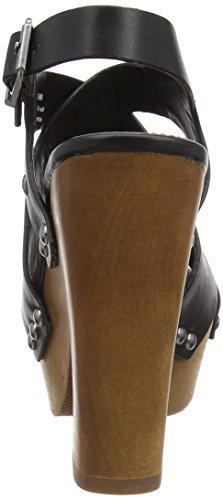 999black Sandali Jeans Donna Pepe schwarz Con Joplin Platea Nero Cross RpPwwvz4xq