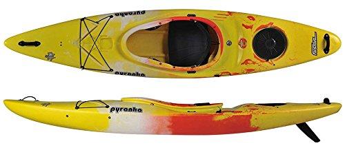 Pyranha Fusion M C4S Kayak Yellow/Jaffa/White by Pyranha