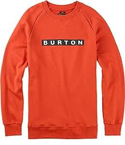 BURTON Men's Vault Crew Pullover, Small, Red Clay