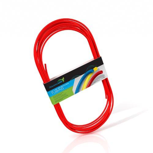Aquatic Life Tubing Polyethylene for Gardening and Aquariums, 50-Feet by 1/4-Inch, Red