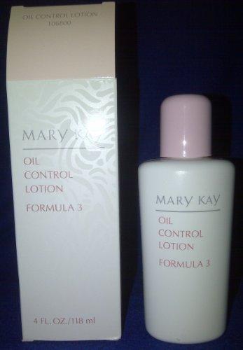 Mary Kay Oil Control Lotion (Mary Kay Formula 3 Oil Control Lotion (4 Fluid Oz))