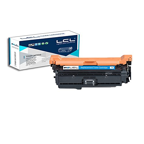 LCL Remanufactured Toner Cartridge Replacement for HP 504A CE251A CP3525 CM3530 (1-Pack Cyan)