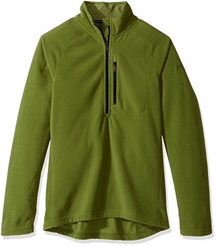 adidas outdoor Men's Reachout 1/2 Zip Pullover, Craft Green, Medium