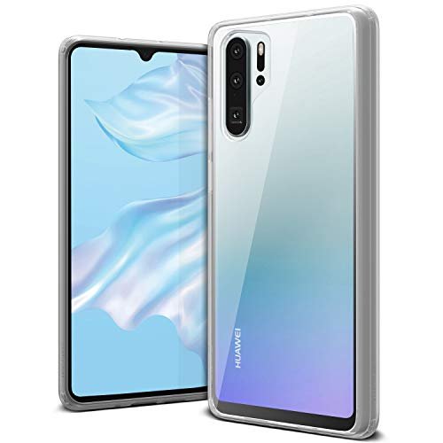 Huawei P30 Pro Case, VRS Design Anti-Yellowing Clear Slim Soft Protective Reinforced Corners [Crystal Chrome] [Clear Back/Translucent Bumper] Cover Compatible with Huawei P30 Pro 6.47 inch (2019)