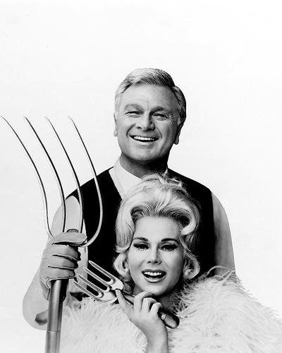 Green Acres Eddie Albert Eva Gabor Pitch Fork 8x10 HD Aluminum Wall - Green Pictures Acres