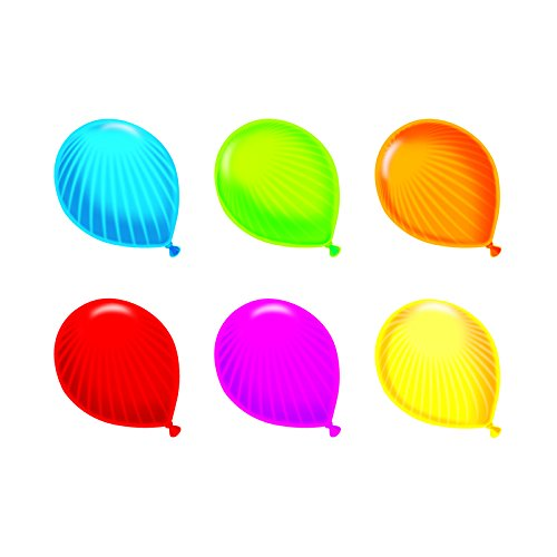 TREND ENTERPRISES INC. PARTY BALLOONS MINI ACCENTS VARIETY (Set of 24) by Trend Enterprises Inc