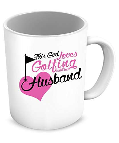 Love Golfing with Husband (Golfing Mug)