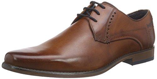 Bugatti 311130011100 - Zapatos Derby Hombre Marrón (Cognac 6300)