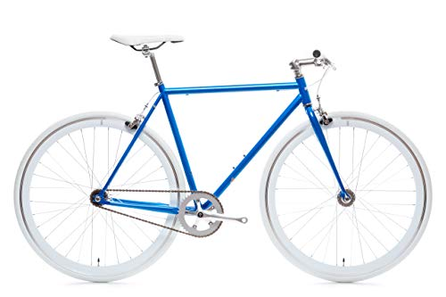 Blue Jay Core-Line State Bicycle | Fixie Single Sped Fixed Gear Bike - Blue Jay Large (58 cm)