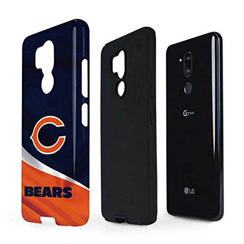 Skinit NFL Chicago Bears LG G7 ThinQ Pro Case - Chicago Bears Design - High Gloss, Scratch Resistant Phone Cover