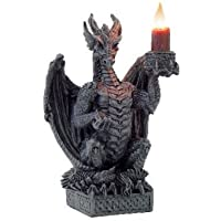 DRAGON CANDLE HOLDER - Light Keeper Gothic Ornament