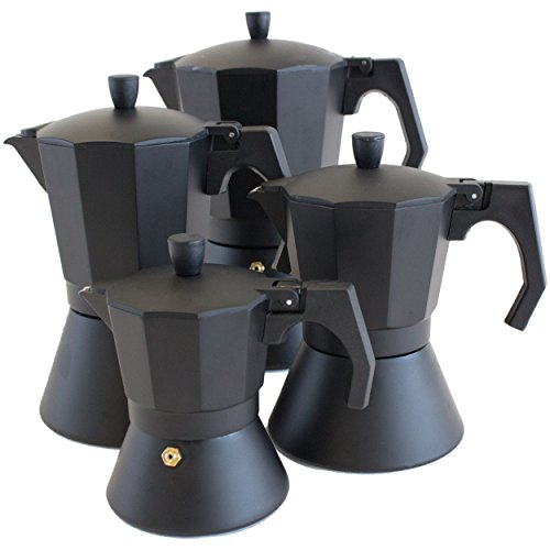 bialetti venus 4 tassen espressokocher induktion edelstahl. Black Bedroom Furniture Sets. Home Design Ideas