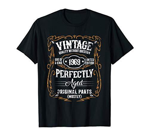 1969 Vintage Funny 50th Birthday Gift T Shirt