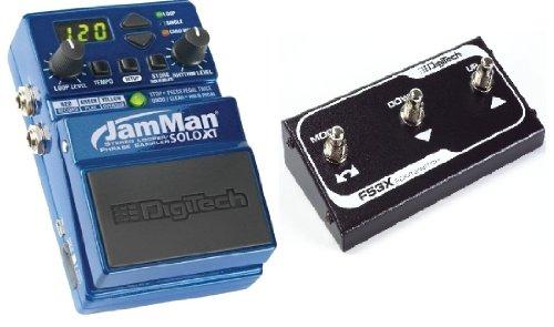 Digitech Jamman Solo XT Looper Guitar Pedal + FS3X Footswitch Bundle