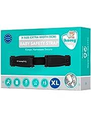 HOMYBABY® Veiligheidsclip voor autostoel | Anti Escape autostoel | harnas borstclip | Voorkom dat kinderen hun armen uit de riemen halen | Veiligheidsgordel Clip (XL)