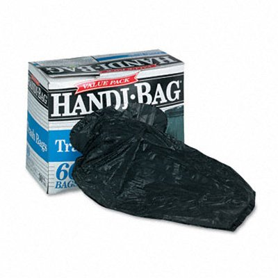 Webster Handi-Bag Super Value Pack Can Liners - Handi-Bag Waste Liners 30Gl 0.7Mil 60/Box