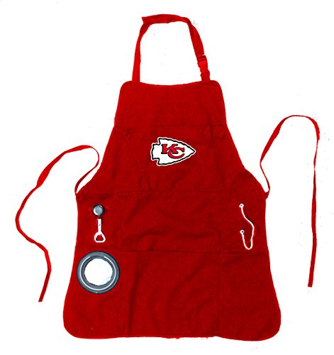 Team Sports America Kansas City Chiefs Ultimate Grilling Apron