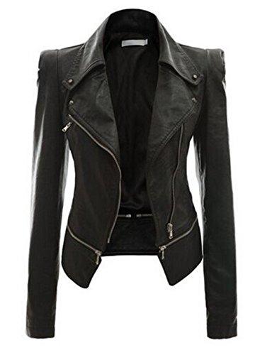 Fanala Womens Motorcycle Jacket Leather