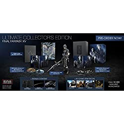 Final Fantasy XV Ultimate Collector's Edition - PlayStation 4